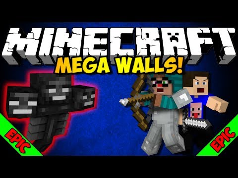 SUPER EPIC!!! Minecraft: Mega Walls Stream Round! (HD)