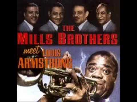 THE MILLS BROTHERS & LOUIS ARMSTRONG - MY DARLING NELLY GRAY