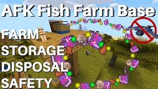 Video How To Make an AFK Fish Farm in Minecraft 1.14.4: AFK Fishing Base | Storage Disposal Phantom Proof MP3, 3GP, MP4, WEBM, AVI, FLV September 2019