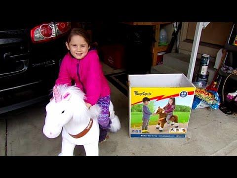 Unicorn Ponycycle-Chloe's Toy  Time (видео)