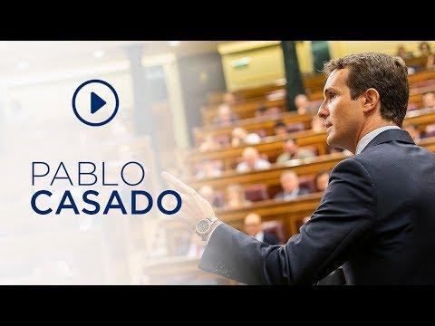 """Casado a Sánchez: """"libere a España de este lastre ..."""
