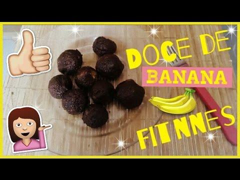 Dieta - Como fazer Doce de Banana FITNEES! #DiárioFitnees