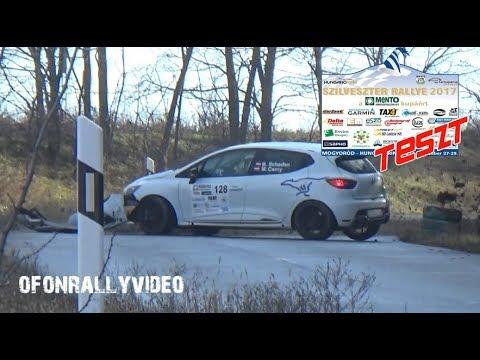 Szilveszter Rallye 2017 Teszt Crash & Action - ofonrallyvideo