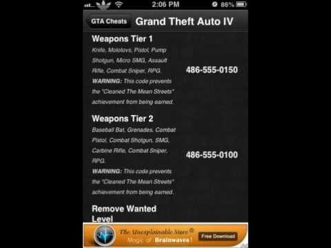 Gta 4 Cheats Tank Xbox 360 GTA IV Cheats