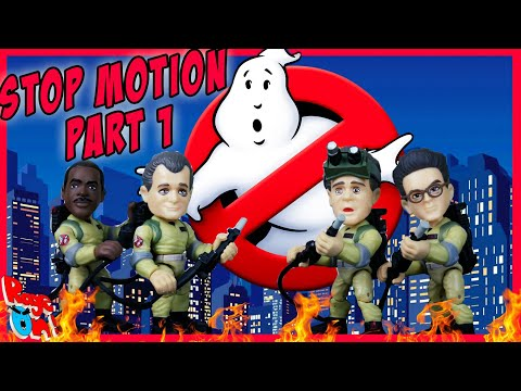 Part 1 GHOSTBUSTERS 2020 an action figure movie stop motion animation