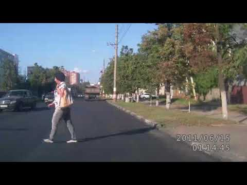 Авария с пешеходом в Ульяновске