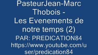 LES ÉVÈNEMENTS DE NOTRE TEMPS - 2/5