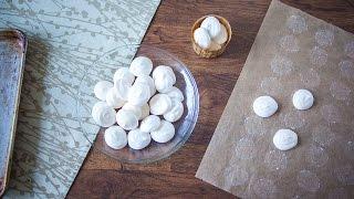 Veganistische meringues