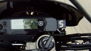 9. Yamaha WR250R WR250X Gear Position Indicator from 12oClockLabs - Review by SRmoto.com
