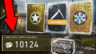 $20,000 BIGGEST SUPPLY DROP OPENING IN CALL OF DUTY HISTORY!!! (10,000+ SUPPLY DROPS!)