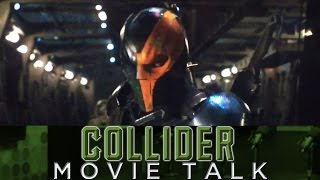 Ben Affleck Reveals Deathstroke As Villain For Batman Solo Movie? - Collider Movie Talk by Collider