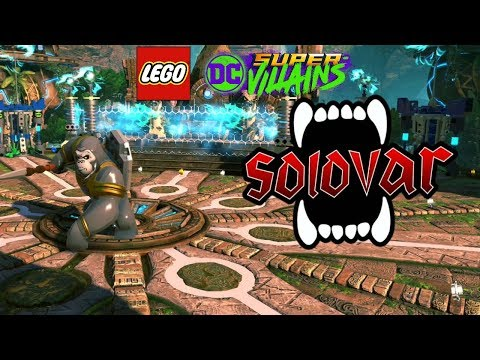 LEGO DC Super Villains Solovar Boss Battle (Gorilla City Level)