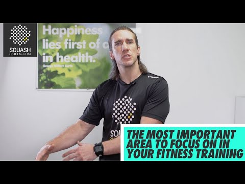 Squash tips: Health and Fitness Q&A - What is the most important fitness area to focus on?