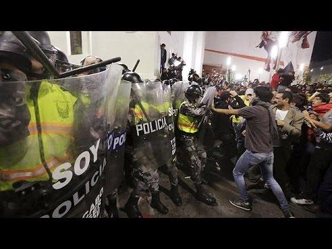 Ισημερινός: Αντικυβερνητικές διαδηλώσεις για τη φορολογία