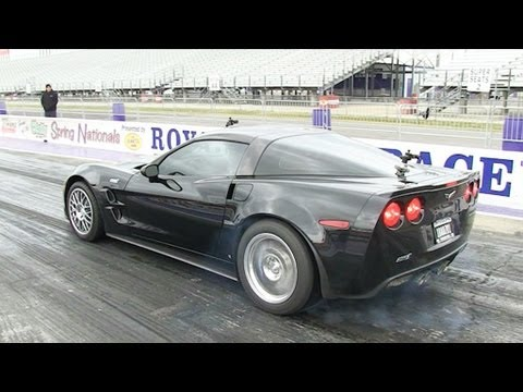 Live Drag Racing (4) - ZR1, CTS-V, Camaro, Corvette