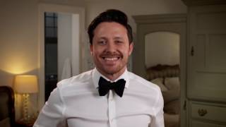 How to tie a bow tie – our video shows you one of the skills every man should have: how to tie a bow tie for weddings and black tie events.Shop bow ties: http://po.st/shopbowtiesFrom our TV adverts to recipes, inspiration or styling tips discover the M&S YouTube channel and subscribe! http://bit.ly/1FlkeqnFacebook: http://po.st/QnK3OzTwitter: http://po.st/aURxWhInstagram: http://po.st/PqiojDPinterest: http://po.st/QFrmtFGoogle+: http://po.st/Kv4Yr3