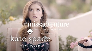 anna kendrick & lily tomlin in #missadventure: the great escape (s1) | kate spade new york