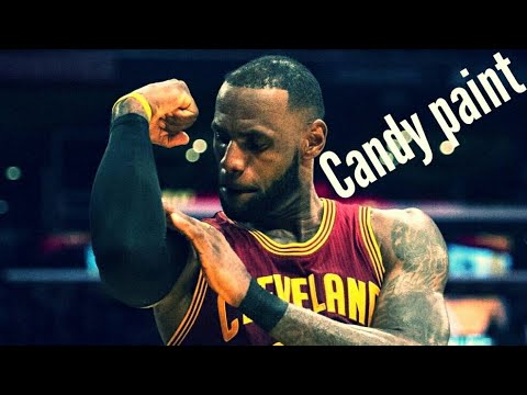 Lebron James Mix~candy Paint
