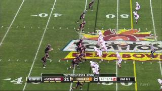 Brandon Weeden vs Stanford 2011