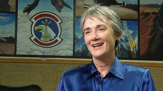 Secretary of the Air Force, Heather Wilson, announces launch of new program for innovators and entrepreneurs to help the Air Force.