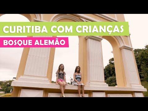 Curitiba com crianças: Bosque Alemão