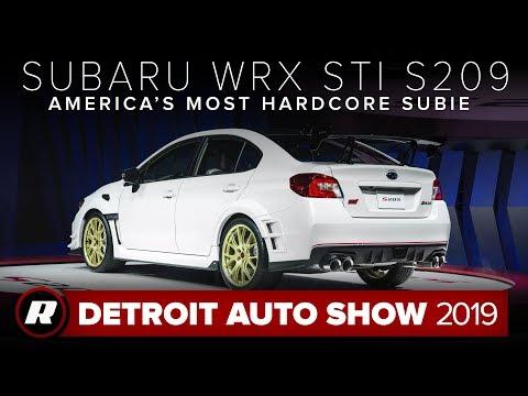 Subaru WRX STI S209: The best STI we've ever seen | Detroit 2019