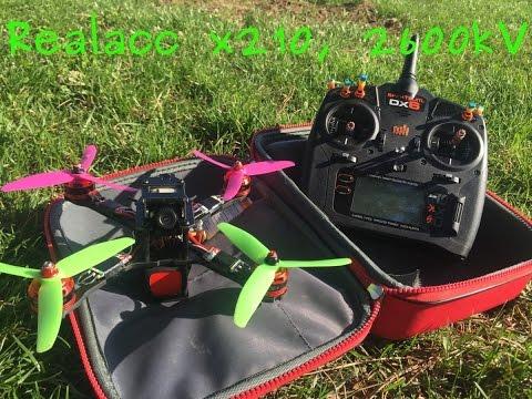 Realacc x210 FPV Quad - LOS \