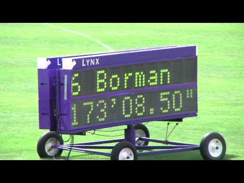 Brittany Borman Oklahoma Discus Throw 2011 US Outdoor National T&F Champs June 23, 2011