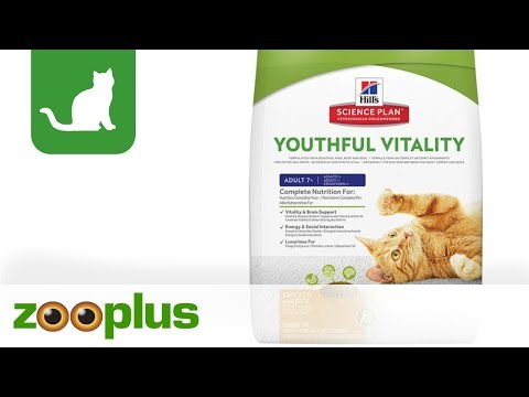 Hill's Feline 7+ Youthful Vitality with Chicken & Rice