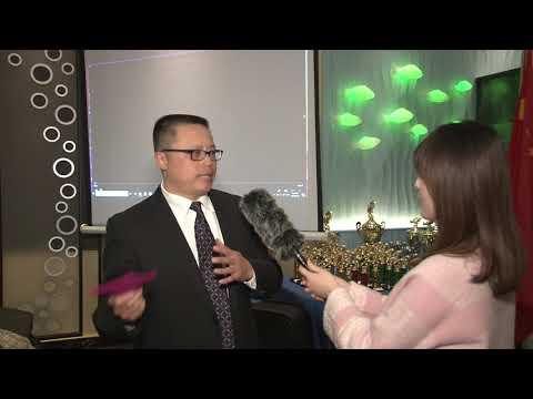 2018华钓颁奖视频1:主持人Edward Sun接受记者采访