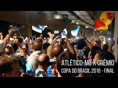 Atlético-MG 1 x 3 Grêmio - Copa do Brasil 2016 - Entrada da banda / Meu único amor - Geral do Grêmio - Grêmio