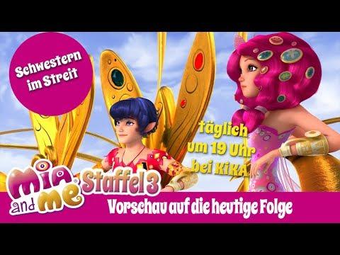 Schwestern im Streit - Mia and me Staffel 3 - Vorschau auf die heutige Folge (видео)