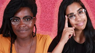 Women Wear Glasses For A Day