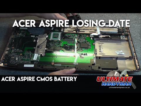 , title : 'Acer Aspire CMOS battery | Acer Aspire losing date'
