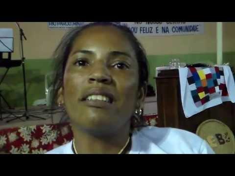 XII Enc. de CEBs de Janaúba, MG: Comunidade geraizeira de Sobrado, Rio Pardo de MG. 30/08/14