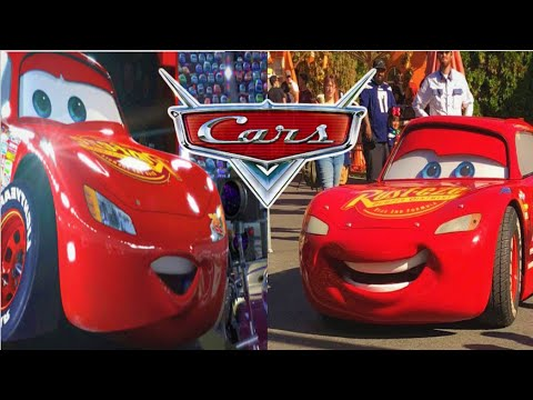 Disney Cars In Real Life !