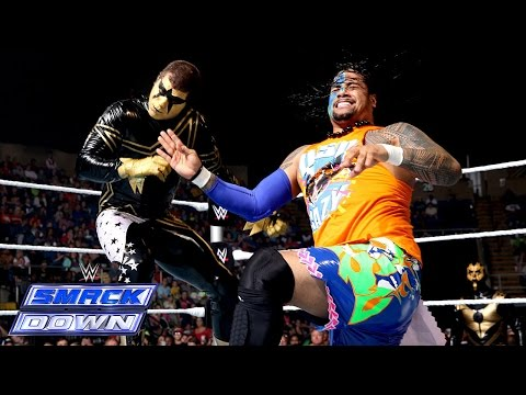Jimmy - One half of the WWE Tag Team Champions, Jimmy Uso, goes one-on-one with the bizarre Stardust on SmackDown. See FULL episodes of SmackDown on WWE NETWORK: http://bit.ly/1yiBxts Don't forget...