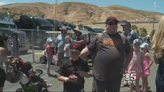 NASCAR Fans Camping Out, Revved Up, Ready For Big Race