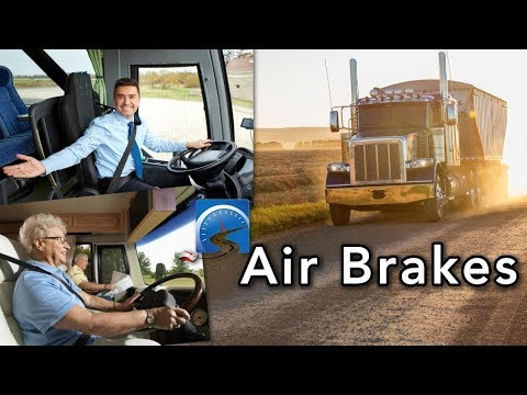 Learn The Basics Of Passing Your CDL Air Brake Test