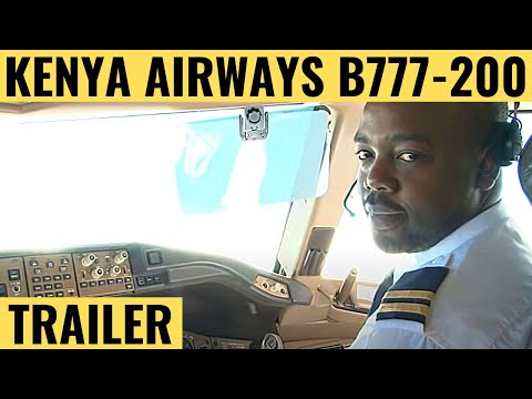 Kenya Airways B777-200ER - Cockpit Video - Flightdeck Action - Flights In The Cockpit