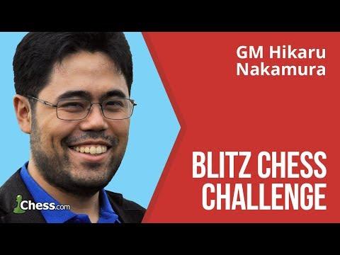Hikaru Nakamura Makes A Blitz Chess Challenge: 50 Games (видео)