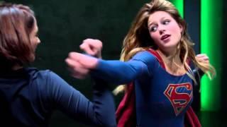 Download Video Supergirl Fight Practice under Kryptonite Emitter (CBS TV) Melissa Benoist Scene 1 MP3 3GP MP4
