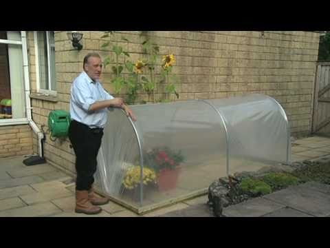 polytunnels - A mini polytunnel, portable plant protector, small space polytunnel. Perfect if you are limited for space, want to try your hand at a new hobby or rediscover...