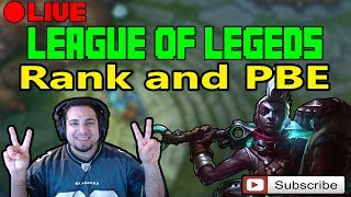 League of Legends 7.14 or PBE League of Legends 7.15Latest Video:PATCH 7.15 EKKO BUFF, SIVIR BUFF, JINX BUFF, GANKPLANK BUFF, ZAC NERF & MORE  League of Legends  Kobe lol  Kobe2408 lol  PBE Rework, Update, or ChangesUp coming Skins:1. Program Heimerdinger, Elise, and Kalista2. Mater Arcanist Vladimir3. Nanotech Zac4. Arcade Yorick5. Secret Boss Viktor6. Elderwood Blitzcrank7. Pool Party illaoi, Ahri, Gragas, Bard, and Sivir8. Piltover Customs Rumble=====Make sure to Subscribe, Like, Comment, and Share :) Thank you!=======Donations for Live Stream:1. https://youtube.streamlabs.com/kobe2408Under Ground Free Music:1. Undergroundfreemusic@gmail.comEmail me your music and I will help you promote it. MUST BE COPYRIGHT FREE!Discord Channel Link:1. Discord - https://discord.gg/JnkwBXQFollow me Here:1. Facebook - https://www.facebook.com/akum.sandhu2. Twitter - https://twitter.com/AkumSandhu3. Twitch TV – https://www.twitch.tv/kobesandhu4. Youtube Live Stream - https://gaming.youtube.com/c/HardHitt...5. Instagram - https://www.instagram.com/kobesandhu/Check out my other videos:1. New Lucian OP Korean Pro Build LCS  League of Legends 7.9  Patch 7.9  Brofresco, Phylol, Redmercy, Nightblue3, imaqtpie, and pokimane ain't got stuff on ME!!! LOL - https://www.youtube.com/watch?v=wvI7H...2. NEW Heimerdinger Passive Rework 2017 patch 7.10  League of Legends 7.10 PBE3. *WTF* EKKO 2 HEXTECH ITEMS IS INSANELY STRONG AND WORKS!!  LEAGUE OF LEGENDS 7.9  PATCH 7.94. *NEW* Rework Ezreal PulseFire All Sound Effects and Voice Lines 2017  League of Legends 7.105. *NEW* PulseFire Caitlyn All Sound Effects and Voice Lines  League of Legends 7.10  Patch 7.106. NEW REWORK EZREAL PULSEFIRE SKIN GAME PLAY 2017  LEAGUE OF LEGENDS 7.9  PATCH 7.97. NEW PulseFire Cailtyn Gameplay Skin Spotlight 2017  League of Legends 7.9  Patch 7.9 PBE8. NEW HEXTECH MSI CAPSULE UNBOXING OPENING X50  League of Legends 7.8  Patch 7.89. New Hextech Chest and MSI Capsule Unboxing Opening  Rarest Skins in League of Legends