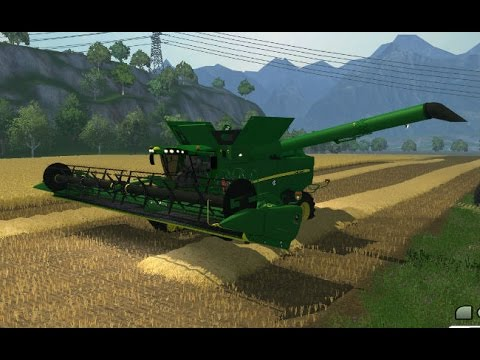 Farming Simulator 2013 Mods - John Deere S690I Edit SIID