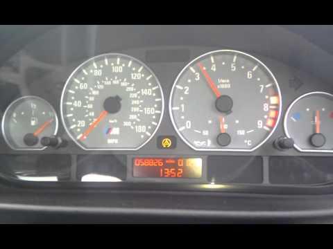 e46 M3 0-100 mph acceleration