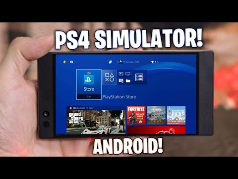 DOWNLOAD PS4 SIMULATOR FOR ANDROID! 100% REAL ( TRY IT )