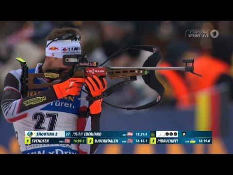 Sprint Men Ruhpolding / 13.01.2017 (видео)