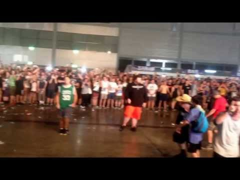 Suicide Silence-huge Wall Of Death @ Soundwave Sydney 2014