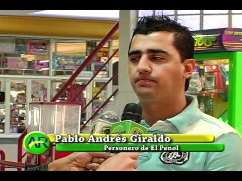 Pablo Andrés Giraldo nuevo personero de El Peñol